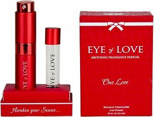 Eye of Love -6 Different Deluxe Pheromone Colognes, Vegan Parfum Perfume Aroma