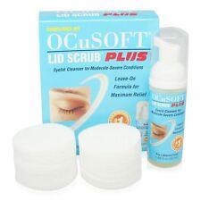 ocusoft Plus COMPLIANCE KIT 50ml Mousse POMPE + 100 compresses