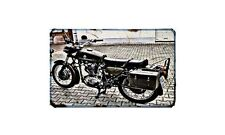 Condor A 350 Motorbike Sign Metal Retro Aged Aluminium Bike