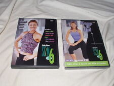 LOT of Debbie Sieber's Slim in 6 Workout DVD's 3-Discs Weeks 1-7 & On Exercise