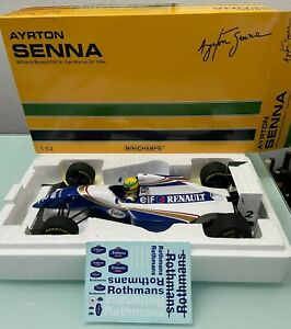 Williams Renault FW16 SENNA San Marino GP 1994 + Decals in 1:12