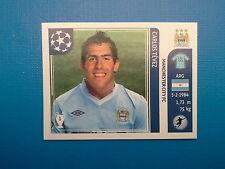 Panini Champions League 2011-12 n. 54 Tevez Manchester City