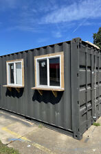 New Listingshipping Container Converted To Retail Store Insulated With Windows And Door