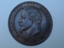 5 cts Napoléon III tête nue 1865 A