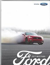 2017 Ford Mustang Sales Brochure Shelby GT-350 GT 17 News