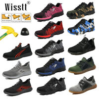 Womens ESD Steel Toe Safety Shoes Work Boots Lightweight Indestructible Sneakers