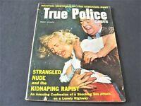 True Police Cases, Wanton Mistress of the Seducing Poet, March 1956, Magazine.