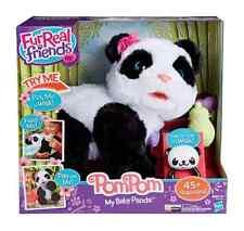 New Kids Girls Cuddly Interactive Toy FurReal Friends Pom Pom My Baby Panda Pet