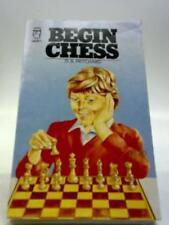 Begin Chess Book (Paperfronts) (Pritchard, David Brine - 1981) (ID:73998)
