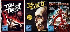 Evil Dead sin Cortes Danza el Diablo 1 2 3 Colección Armee Oscuridad 3 DVD Nuevo