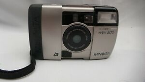 VINTAGE MINOLTA VECTIS 200 IX DATE APS FILM FORMA POINT AND SHOOT COMPACT CAMERA