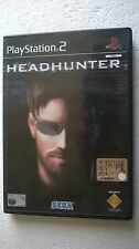 PS2 SONY PLAYSTATION 2 HEADHUNTER - SEGA -