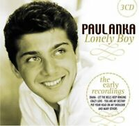 PAUL ANKA Lonely Boy 2010 46-track 3xCD box set NEW/SEALED The Early Recordings