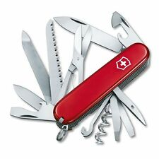 Victorinox RANGER / Swiss Army Knife W/ Leather Clip Pouch - SWITZERLAND NEW