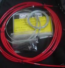 JAGWIRE HOUSING CABLE BRAKE SHIFTER COMPLETE KIT RED SUIT SRAM SHIMANO AVID