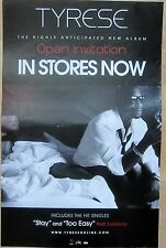 Tyrese - OPEN INVITATION Promo Poster [2011] - VG+