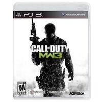 Call Of Duty: Modern Warfare 3 PlayStation 3 PS3 Very Good 3Z