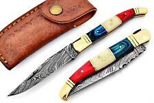 Damastmesser,Klappmesser,Taschenmesser,schönes Messer,Werkzeuge im Freien GUJ-05