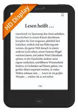 tolino shine 2 HD ebook Reader mit integrierter Beleuchtung und WLAN