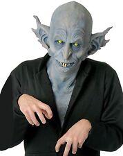 Halloween Costume HORRIFYING NOSFERATU DELUXE LATEX MASK Haunted House NEW