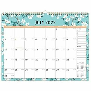 """2021-2022 Calendar 18 Monthly Wall Calendar With Thick Paper 14.6"""" x 11.5"""" NEW"""