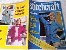 ORIGINAL, VINTAGE, STITCHCRAFT MAGAZINE, OCTOBER  1976 No. 514