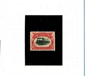 U.S. Scott stamp #295, V/F, O.Gum, N/Hinged,1901 'Fast Express' 2c carmine/black