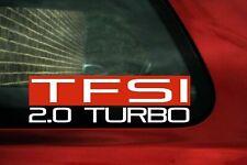 TFSI 2.0 Turbo sticker for Mk5, MK6 Golf GTi, R / Scirocco / Audi TT, TTS mk2
