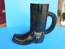 "Harley-Davidson Tall Black Boot Mug Special Edition ""Engineer of the road""   apc"