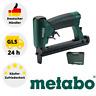 Metabo DKG80/16 Druckluft Tacker Druckluft- Klammergeräte/ - Nagler + Koffer