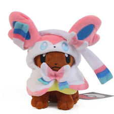 Eevee Poncho Vaporeon Plush Doll by Pokemon Center Costume Cape Toy 2017 Gift