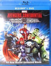 Avengers Confidential: Black Widow & Punisher Marvel (Blu-Ray + Dvd) Mint Discs