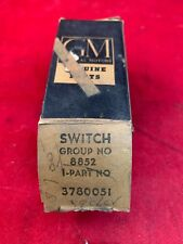 58 59 60 61 62 Chevrolet Bel Air Biscayne Impala Heater Switch OE GM 3780051 NOS