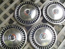 1963 63 Ford Fairlane Hubcaps Wheel Covers Center Caps Antique Vintage 14 In
