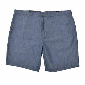 Polo Ralph Lauren Mens Shorts Classic Fit 9 Inch Cotton Bottoms 42 Blue Damaged