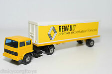 SOLIDO 370 SAVIEM CAMION TRUCK WITH TRAILER RENAULT NEAR MINT CONDITION
