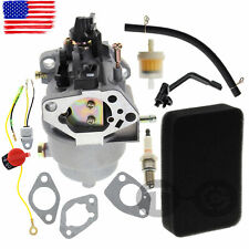 New Carburetor for GENERAC GP7500E GP5500 8125W Rep Air Filter Fuel Filter