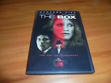 The Box (DVD, 2010 Widescreen)  James Marsden, Cameron Diaz Used