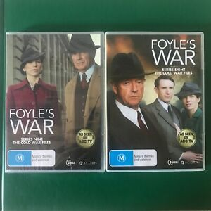 FOYLE'S WAR Series 8-9 DVD The Cold War Files - Series 9 Is New/Sealed