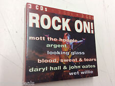 Rock On [Sony Special Products] - Various Artists (CD, -2006, 3 Discs, Sony) NEW