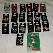 Disney Parks Trading Pin lot of 20 Rack Pins / LE Pin New on cards  AUTHENTIC