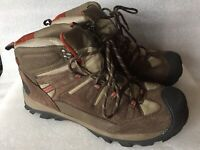 Coleman Excursion Series Brown Leather Lace up Men's Hiking Boots Size 11