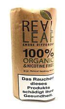 Real Leaf Tabakersatz Nikotinfreie Kräutermischung Organic braun 1x Päckchen