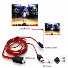 2 M USB MHL a HDMI Cavo Adattatore TV HD per Samsung Galaxy Tab 3 10.1 8.0 Tablet