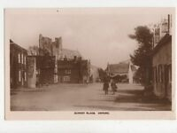 Orford Market Place Suffolk 1928 RP Postcard 779a