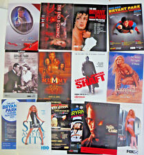 Movie Postcards Lot of 14 - Die Another Day Sex and the City Sheena VIP Shaft