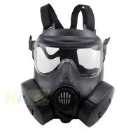 Airsoft M50 Máscara de gas Máscara de cara completa CS Field Dust Face Guard New