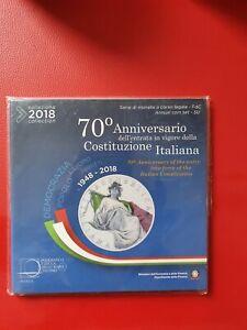 *COFFRET BU  ITALIE 2018 -  8 pièces + La pièce de 5 euro