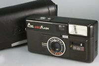 Fujica Pocket 450 flash - Rare 110 film camera with Original Case From Japan #81