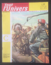 Collection revue Tout l'Univers original Editions Hachette n°24 du 04/04/1962
